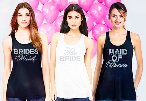 Bridal Party Tees & Tanks